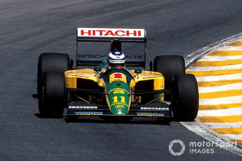 Mika Hakkinen, Lotus 102D