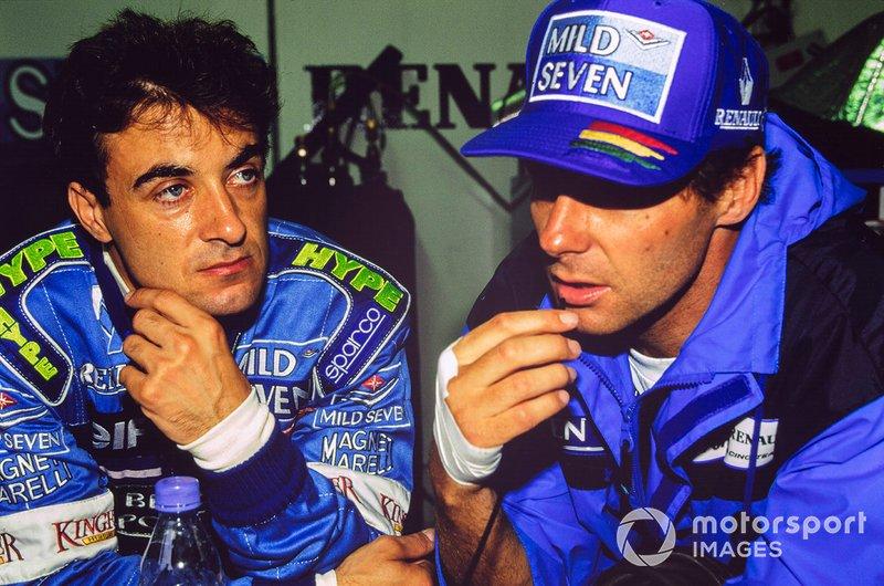 Jean Alesi, Benetton, Gerhard Berger, Benetton
