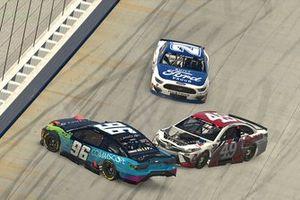 Daniel Suarez, Stewart-Haas Racing, Chad Finchum, MBM Motorsports