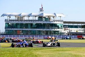 Clement Novalak, Carlin, Sebastian Fernandez, ART Grand Prix and Frederik Vesti, Prema Racing