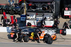 Christopher Bell, Leavine Family Racing, Toyota Camry Procore pit stop