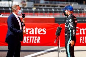 Martin Brundle, Sky TV, intervista Valtteri Bottas, Mercedes AMG F1