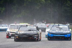 Chase Briscoe, Stewart-Haas Racing, Ford Mustang Henry Repeating Arms, Ryan Sieg, RSS Racing, Chevrolet Camaro CMRRoofing.com