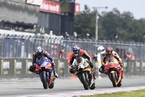 Iker Lecuona, Red Bull KTM Tech 3, Bradley Smith, Aprilia Racing Team Gresini, Stefan Bradl, Repsol Honda Team