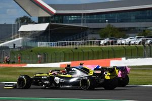 Esteban Ocon, Renault F1 Team R.S.20, Lance Stroll, Racing Point RP20