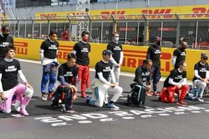 Drivers takes the knee