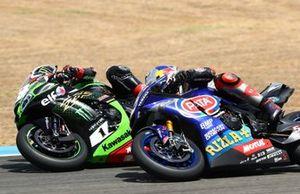 Jonathan Rea, Kawasaki Racing Team,Toprak Razgatlioglu, Pata Yamaha