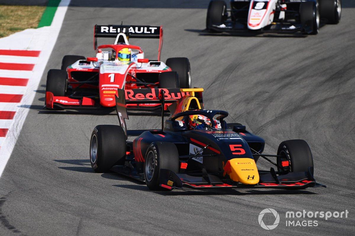 Liam Lawson, Hitech Grand Prix, Oscar Piastri, Prema Racing