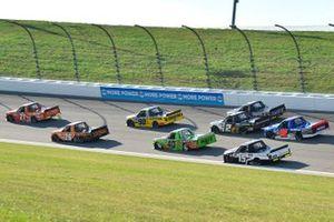 Zane Smith, GMS Racing, MRC Construction Chevrolet Silverado, Tyler Ankrum, GMS Racing, Liuna! Chevrolet Silverado