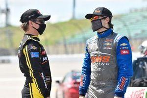 Brandon Jones, Kyle Busch Motorsports, Delta Faucet/Menards Toyota Tundra, Chase Purdy, GMS Racing, BAMABUGGIES.com Chevrolet Silverado