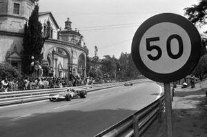 Renn-Action beim GP Spanien 1971 in Montjuich