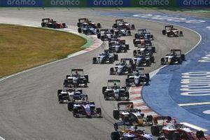 Liam Lawson, Hitech Grand Prix, Lirim Zendeli, Trident, Jake Hughes, Hwa Racelab, Enzo Fittipaldi, Hwa Racelab