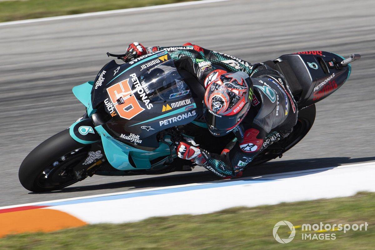 2-е место: Фабио Куартараро (Petronas Yamaha SRT)