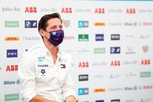 Ian James, Team Principal, Mercedes-Benz EQ , in the press conference