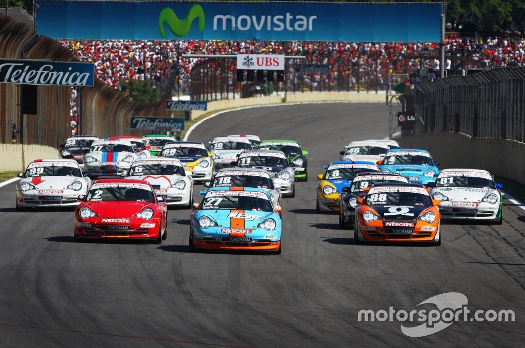 "#14 ""Despedida do Pioneiro, 911 GT3 Cup 996"""