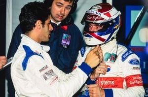 Domenico Schiattarella and Jos Verstappen, Simtek