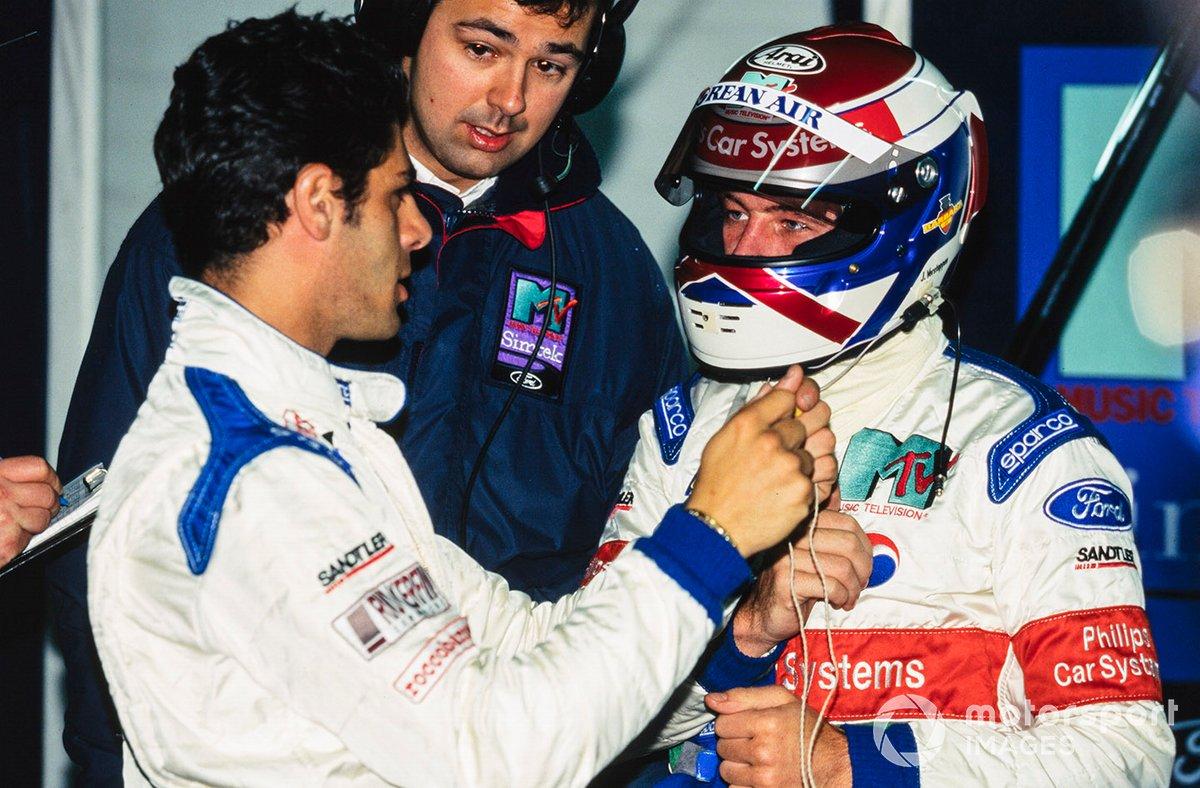 Domenico Schiattarella y Jos Verstappen, Simtek