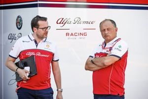 Julien Simon-Chautemps, Senior F1 Race Engineer of Kimi Räikkönen, Alfa Romeo and Frederic Vasseur, Team Principal of Alfa Romeo Racing