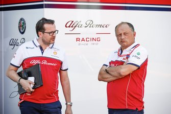 Julien Simon-Chautemps, ingeniero de carreras de F1 de Kimi Räikkönen, Alfa Romeo y Frederic Vasseur, Director de Alfa Romeo Racing