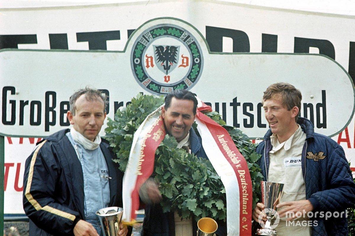 John Surtees, Cooper, le vainqueur Jack Brabham, Brabham, Jochen Rindt, Cooper