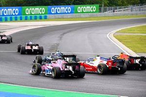 Giuliano Alesi, BWT HWA Racelab, Robert Shwartzman, Prema Racing y Jehan Daruvala, Carlin