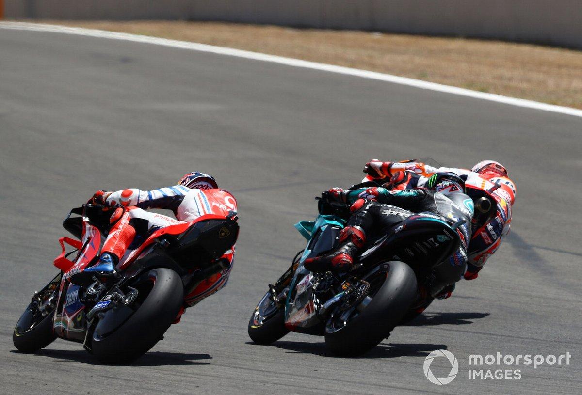 Jack Miller, Pramac Racing, Fabio Quartararo, Petronas Yamaha SRT, Marc Marquez, Repsol Honda Team