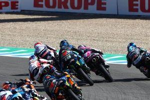 Moto3-Action in Jerez