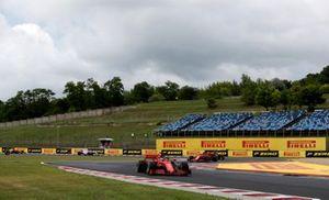 Sebastian Vettel, Ferrari SF1000 and Charles Leclerc, Ferrari SF1000