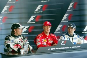 Jenson Button, British American Racing, Michael Schumacher, Ferrari, Juan Pablo Montoya, Williams