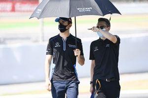 Nicholas Latifi, Williams Racing walks the track