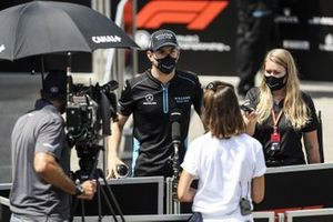 Nicholas Latifi, Williams Racing speaks to the media