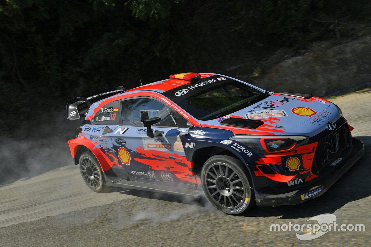 Dani Sordo, Luca Marini, Hyundai I20 Coupe WRC