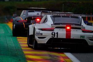 #91 Porsche GT Team Porsche 911 RSR: Gianmaria Bruni, Richard Lietz