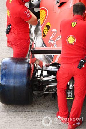 Rear detail of the Ferrari SF1000