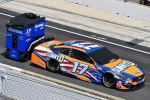 Chris Buescher, Roush Fenway Racing, Ford Mustang SunnyD