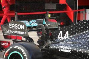 Mercedes AMG W11 rear wing