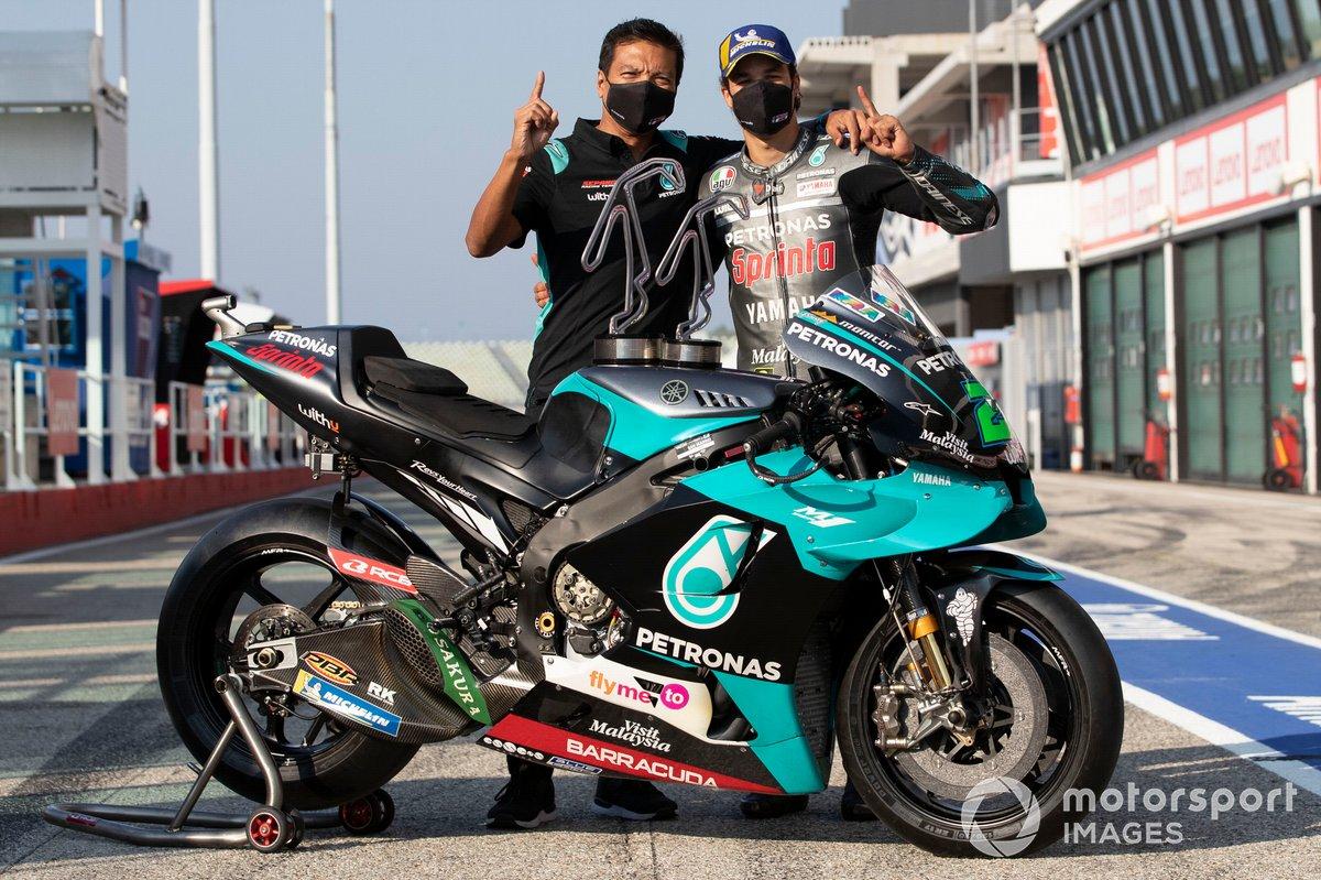 Razlan Razali, Franco Morbidelli, Petronas Yamaha SRT