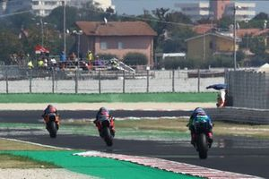 Luca Marini, Sky Racing Team VR46 , Marco Bezzecchi, Sky Racing Team VR46, Enea Bastianini, Italtrans Racing Team