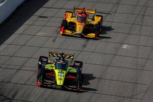 Santino Ferrucci, Dale Coyne Racing with Vasser Sullivan Honda, Ryan Hunter-Reay, Andretti Autosport Honda