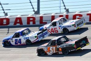 Greg Biffle, GMS Racing, Chevrolet Silverado GMS Services, Chandler Smith, Kyle Busch Motorsports, Toyota Tundra JBL/Smith General Contracting, Ty Majeski, Niece Motorsports, Chevrolet Silverado Plan B Sales