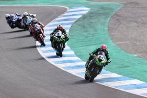 Lucas Mahias, Kawasaki Puccetti Racing, Philipp Oettl, Kawasaki Puccetti Racing