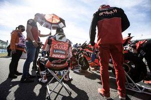 Chaz Davies, ARUBA.IT Racing Ducati, Leon Camier, Barni Racing Team