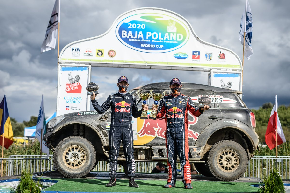 Stéphane Peterhansel, Édouard Boulanger, Mini All4 Racing