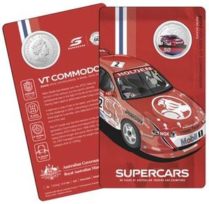 Royal Australian Mint Supercars coins