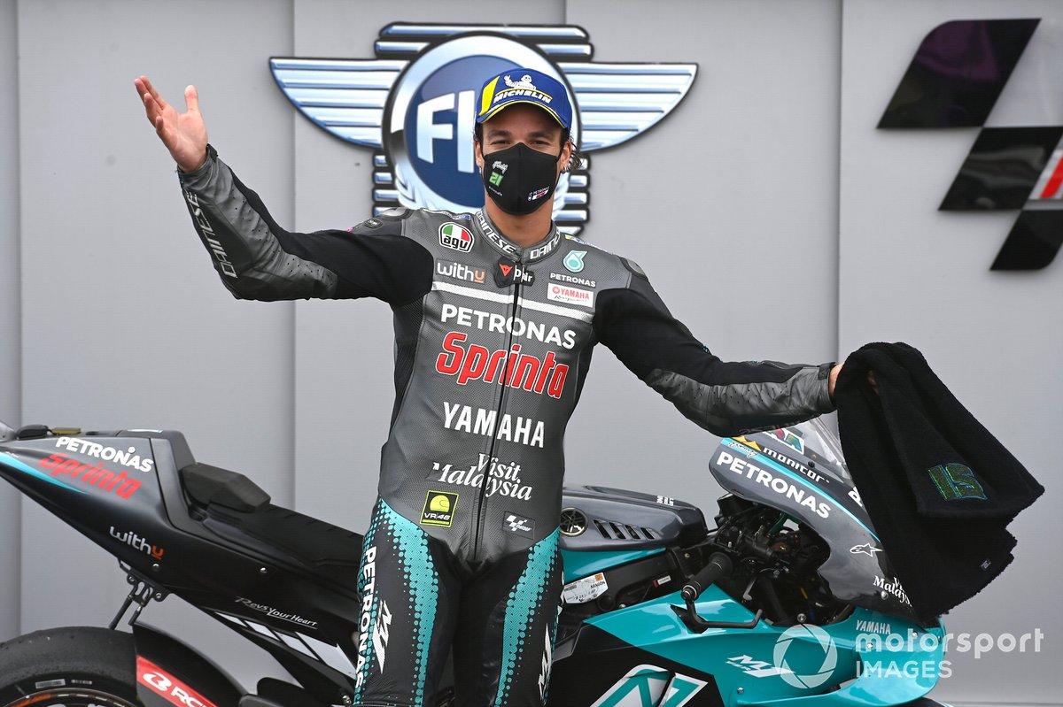 Podio: Franco Morbidelli, Petronas Yamaha SRT