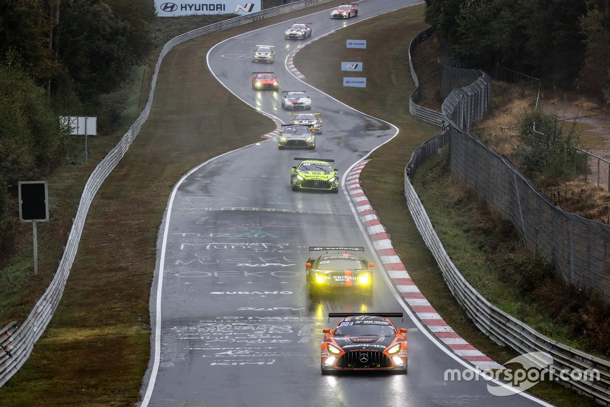 #4 Mercedes-AMG Team HRT Mercedes-AMG GT3: Adam Christodoulou, Maro Engel, Luca Stolz, Manuel Metzger