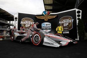 Will Power, Team Penske Chevrolet, podium, team