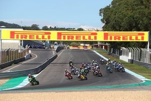 Start der Supersport-Klasse in Estoril