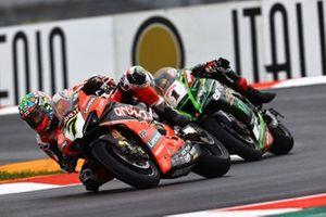 Chaz Davies, ARUBA.IT Racing Ducati, Jonathan Rea, Kawasaki Racing Team