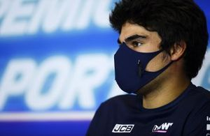 Lance Stroll, Racing Point, in conferenza stampa